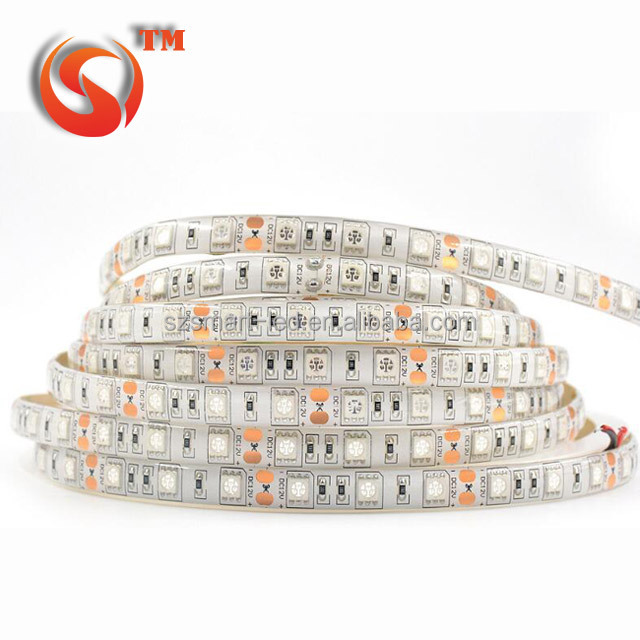Single line SMD 5050 RGB felx led strip light