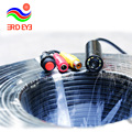 2017 new! factory on sale 8pcs LED/IR 200m Sewer Tube Pipe Inspection Camera