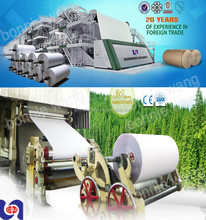 787mm high quality culture paper/writing paper making machine On Sale ! Raw material: waste paper, straw, bagasse, bamboo, etc.