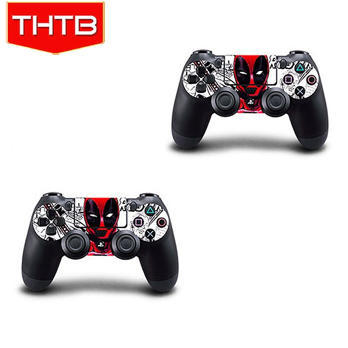 Custom sticker for ps4 console controller vinyl skin decal