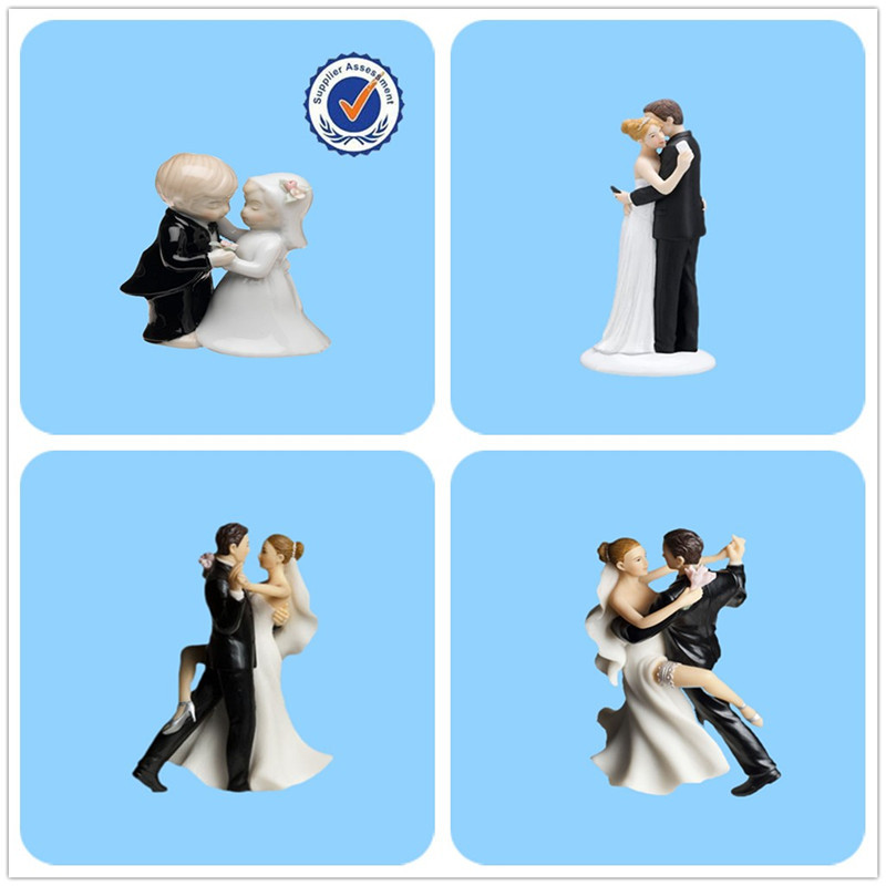 Wedding Couple Resin Wholesale Cake Topper figurine Wedding