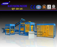 QT10-15 Brick Molding Machine Processing and Concrete Brick Raw Material Stationary Concrete Brick Making Machine