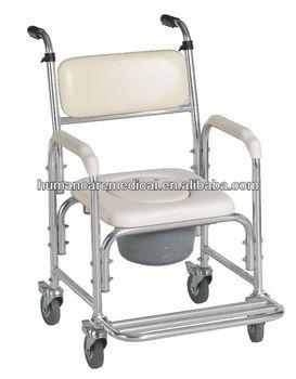 Hospital commode chair buy hospital commode chair for Sillas para el bano para discapacitados