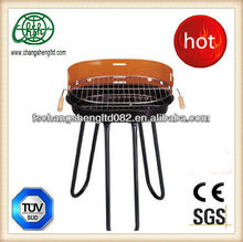14inch round enamel fire bowl tripod charcoal bbq grill