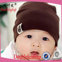 Doubleleafcap Cute beanie babies headphone beanie wholesale knitted baby hat