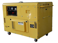 10 kva silent type air cooled AC single phase diesel generator gen set for standby power