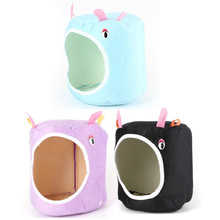 Top Selling 15x15cm Universal Portable Cute Hammock for Ferret Rabbit Rat Hamster Parrot Squirrel Hanging Bed Toy House