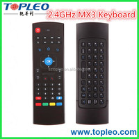 2016 Newest 2.4GHz Fly Air Mouse & Mini Keyboard MX3 Wireless Remote Controller