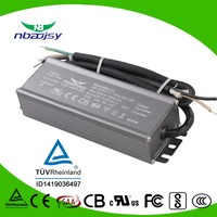 1500ma 70W output power waterproof led power supply ul listed