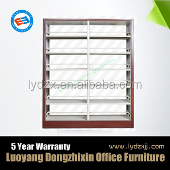 High quality metal cheap bookcase for library steel library bookcases