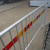 2500mm Length Crowd Control Road Barricade with reflectiion tape