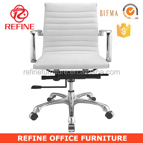 modern white leather office ames chairs RF-S076B