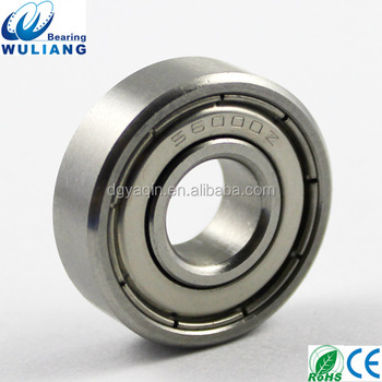China Bearing Supplier 304 stainless steel 6000z bearings