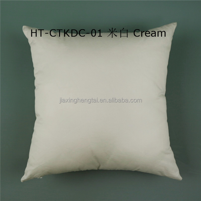 100% Cotton Twill Khaki Cushion Cover Pillow Case 45cmX45cm HT-CTKDC-01 For Wholesale