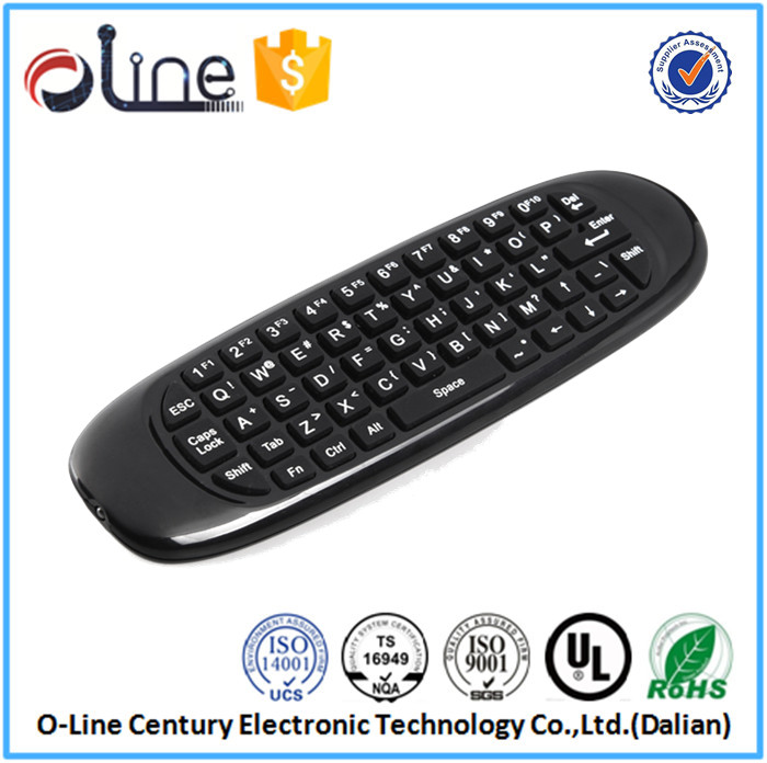 6-Axis inertia Sensors somatic games T10 Wireless Keyboard universal smart tv remote control keyboard
