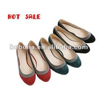 2013 fashion bowtie ladies blue suede shoes