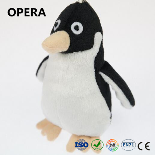 cheap good quality ODM OEM custom white black soft animal small stuffed penguin plush toy