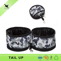 High quality collapsible travel dog bowl water bowl dog