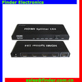 4port HDMI Splitter with Amplifier 1x4 support 3D