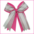 Beautiful giltter Cheer Bow with clip for Cheerleading Girls Hair Accessories Factory Price