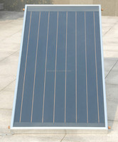 flat plate solar hot water panel with black chrome coating