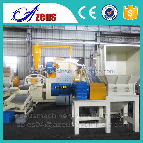 cable wire grinder copper separator, copper recycling machine