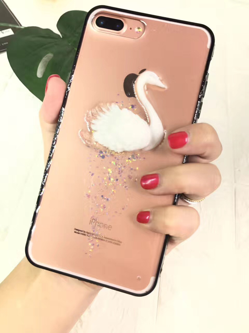 Flexible Price acrylic case cover for iphone 7 8 plus