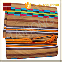 Guangzhou wholesale 100% cotton african printed fabric Java/Hollandais wax fabric with matching bags