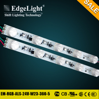 Edgelight CE UL RoHS Certificated addressable rgb strip light led digital for advertising use