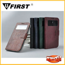 For Samsung i9500 Galaxy S4 Flip Cover,Retro Mobile Phone Flip Cover Case