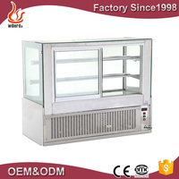 refrigerator show case /used refrigerated display cases/cake display fridge