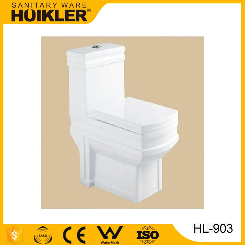 guangdong ceramic sanitary ware one piece wc toilet factory