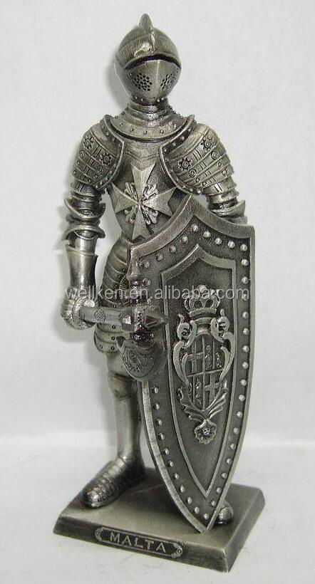 pewter medieval knight