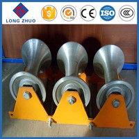 High quality flat belt pulley, cable pulling rollers, pulley wheels