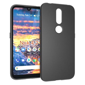 Matte tpu soft case for Nokia 4.2 back cover