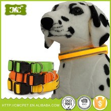 LED USB Rechargeable Dog Shock Collar, USB Rechargeable LED Flashing Dog leash For Christmas