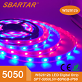 DC 5V rgb 5050 rainbow light magic programmable led strip
