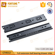 Furniture hardware cabinet full extension drawer guides