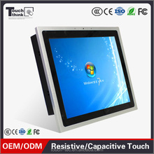 12 inch industrial resistive Touch screen Panel pc 1000nit sunlight readable waterproof IP65