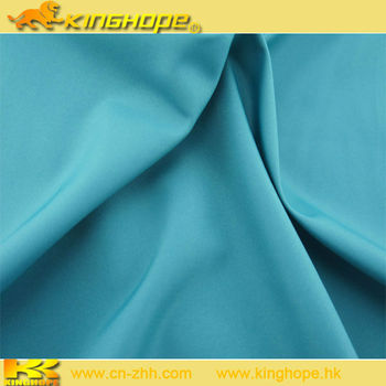 fabric for pants full dull polyester pongee fabric