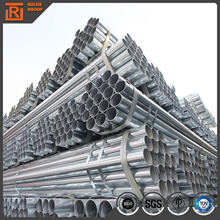 Thin wall galvanized steel 6 inch pipe, weld pre-galvanized steel pipe supplier