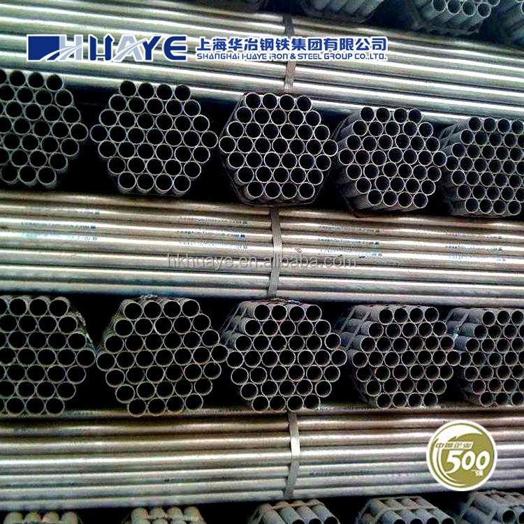 <strong>Q195</strong> Q235 Square Round ERW Welded Hollow Section Steel Tube / Pipe