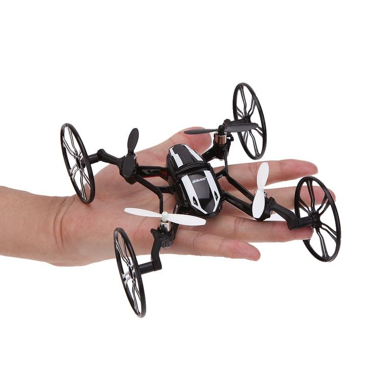 5228411-2.4G 4CH 6-Axis Gyro R/C Quadcopter 4 in 1 Air-ground Amphibious RTF UFO with HD Camera Speed Switch Mode Ground Mode Fl