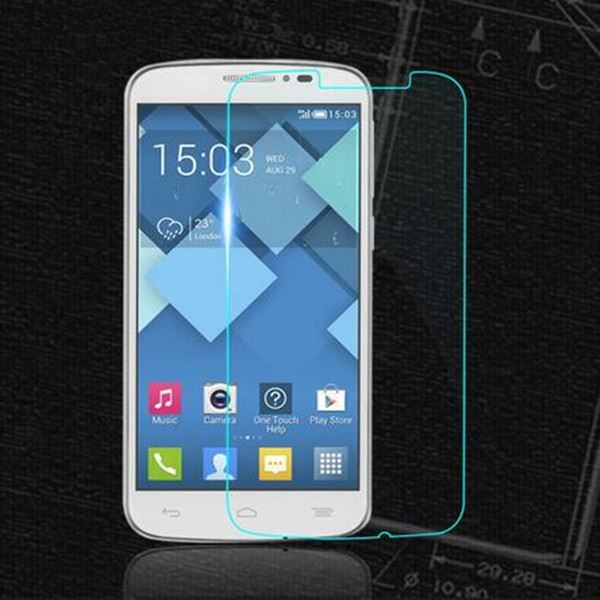 Factory Price Wholesale 2.5D 9H Hardness Tempered Glass Screen Protector For Alcatel One Touch X1 Protective Film
