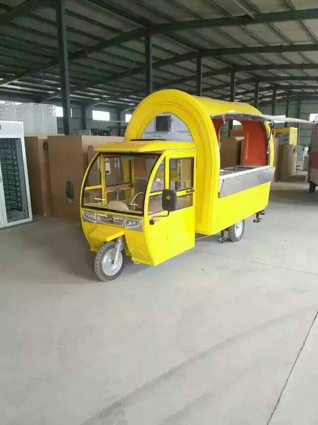 motor tricycle mobile food cart/mobile dining car