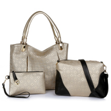 PU Leather Set shoulder bag, Wholesale Designer Women set Handbags, PU Leather Lady set tote bags