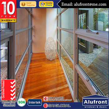 Australian standard aluminum awning window /top hung window with security mesh AS/NZS2047 AS/NZS2208 & AS/NZS1288