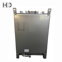 Dalian EDO 1000 liters Stainless Steel Intermediate Bulk Container for Sale
