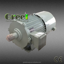 GreeF permanent magnet generator 5kw 600rpm for wind power or water turbine