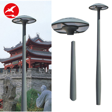Customized 4 Meters Landscape Lamp Aluminium Stand Pole Led 15W 20W 30W 40W Garden Light Led